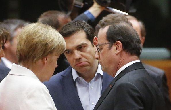 Liderii europeni cer Atenei si mai multe masuri de austeritate. Grecii: Planul Eurogrupului e
