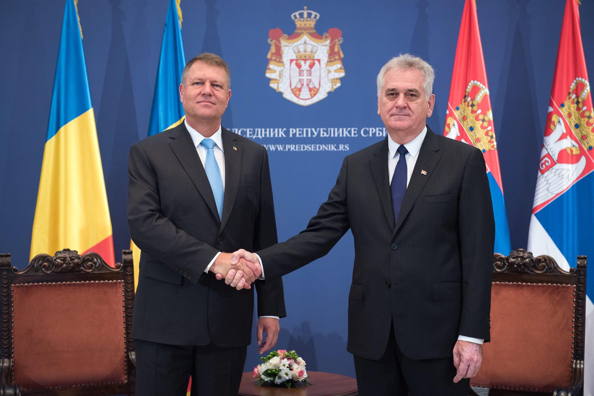 Klaus Iohannis s-a intalnit cu presedintele Serbiei. Care au fost punctele principale discutate cu omologul sau sarb