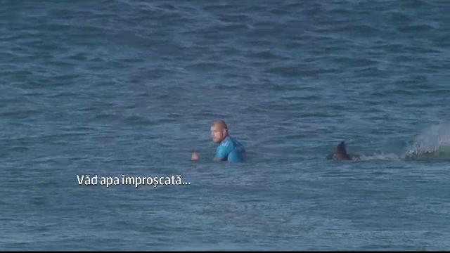 Un campion mondial la surf, atacat de un rechin in timpul unei competitii transmise live. Ce s-a intamplat in cateva secunde