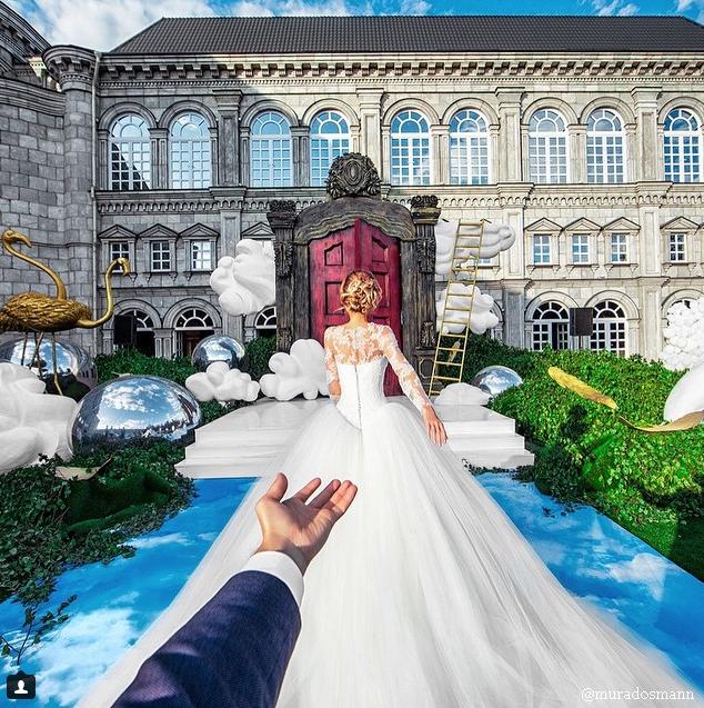 Cel mai faimos cuplu de pe Instagram a fost in luna de miere. Cum s-au fotografiat in cea mai exotica destinatie din lume