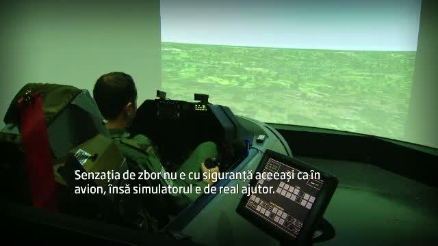 La 34 de ani, Mita este unul dintre primii piloti romani, antrenati sa piloteze un avion F16: