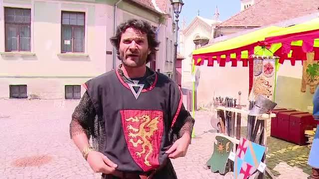 A inceput Festivalul Medieval de la Sighisoara. Recordurile pe care vor organizatorii sa le doboare