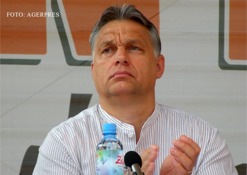 Premierul maghiar, la Tusnad: