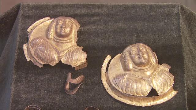 Cele mai frumoase podoabe dacice de argint recuperate vreodata de Romania. Suma platita pentru obiectele furate din tara