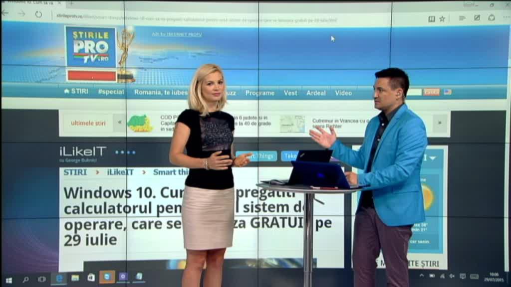 iLikeIT. Windows 10, testat in direct. Pana cand puteti trece GRATUIT la noul sistem de operare de la Microsoft
