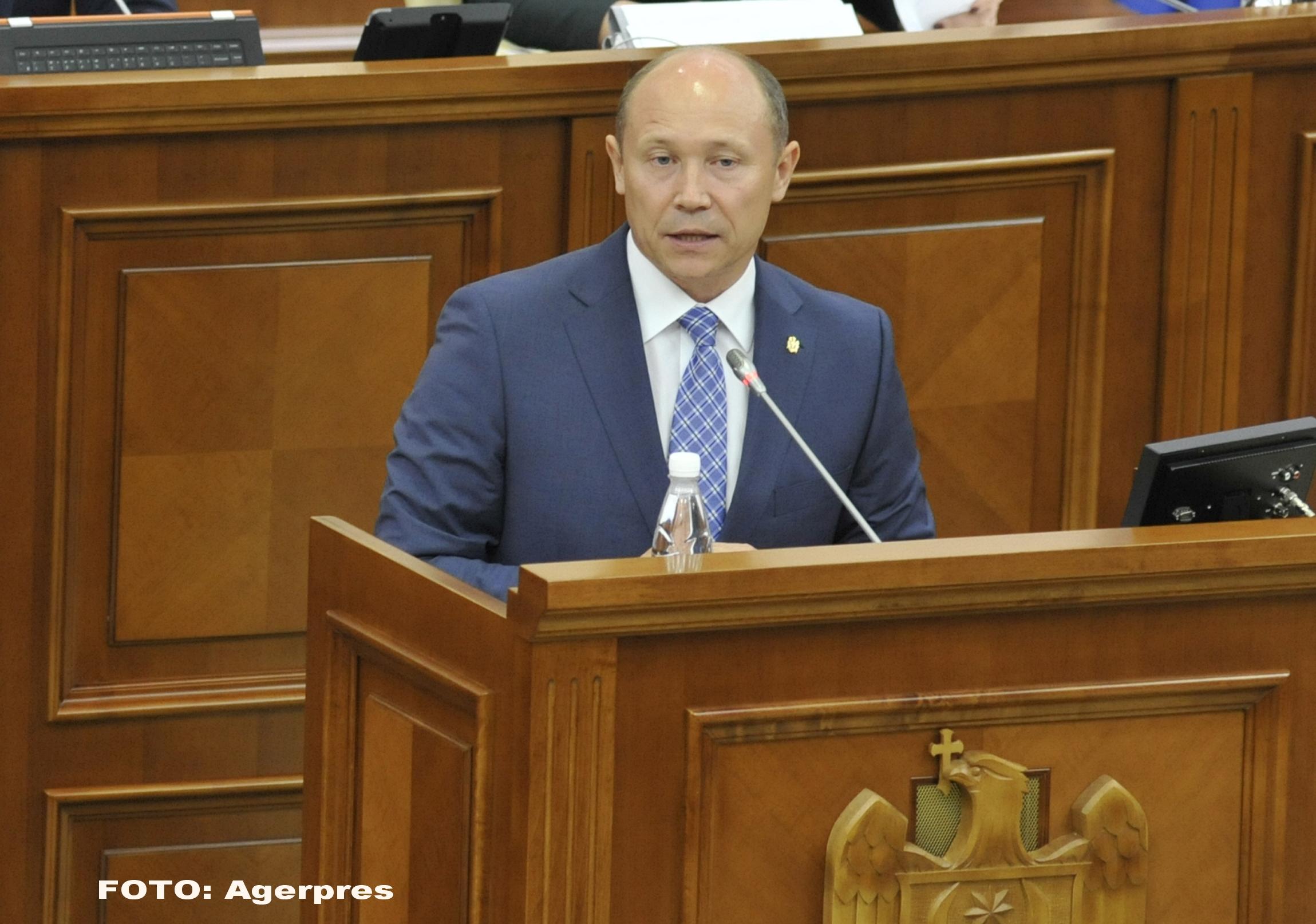 Guvernul de la Chisinau a fost demis prin motiune de cenzura. Pe cine da vina fostul premier Valeriu Strelet