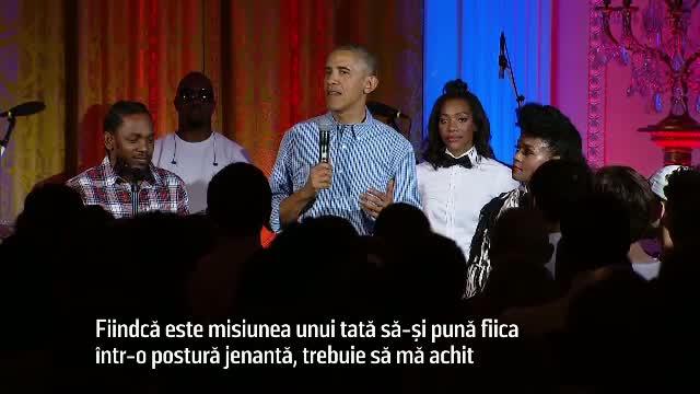 Surpriza presedintelui Barack Obama pentru fiica sa cea mare, care a implinit 18 ani pe 4 iulie, de Ziua Independentei