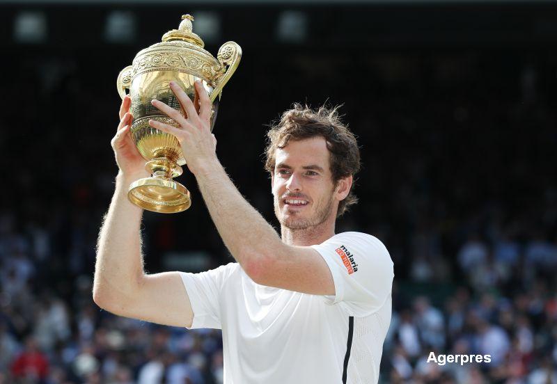 Andy Murray a castigat turneul de la Wimbledon. Victorie clara in fata canadianului Milos Raonic