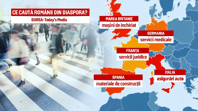 Romania a intrat in TOP 5 al tarilor cu cei mai multi emigranti. Cati romani au plecat sa munceasca in afara