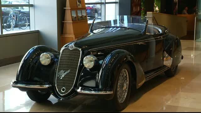 Un Alfa Romeo din 1939 ar putea deveni cea mai scumpa masina vanduta vreodata la o licitatie. Cat cere proprietatul