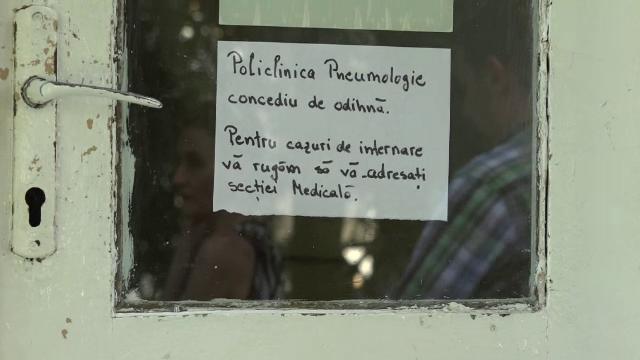 Control la Spitalul din Sighisoara in urma imaginilor cu peretii plini de sange si pernele mizerabile. Reactia primarului