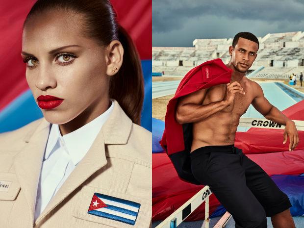 Delegatia Cubei la Jocurile Olimpice de la Rio de Janeiro va aparea in uniforme create special de Christian Louboutin. VIDEO