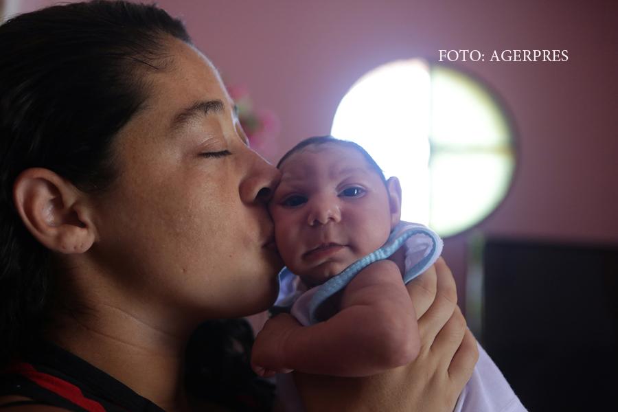 Primul nou-nascut din Europa cu microcefalie provocata de Zika.
