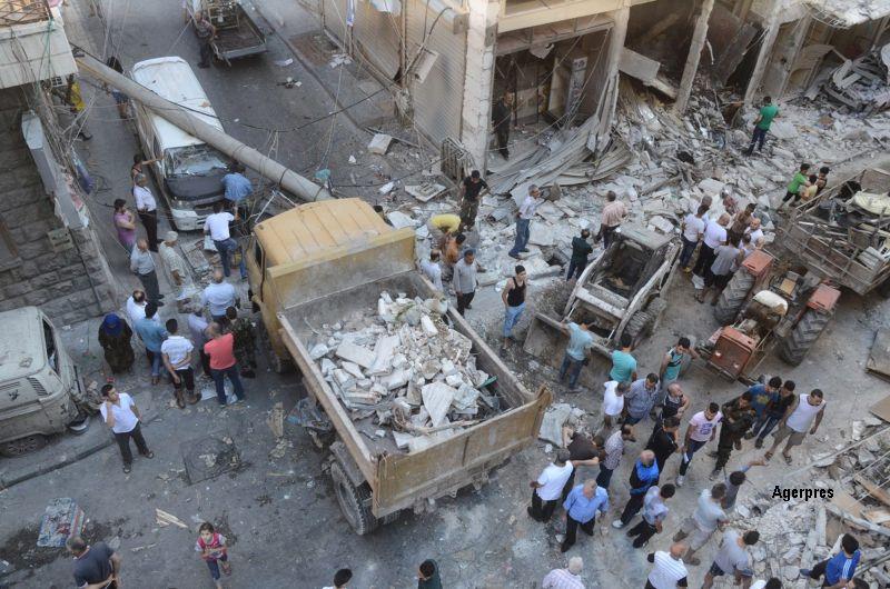 Presa de stat din Siria anunta ca zeci de familii sunt evacuate din metropola asediata Alep. De ce sunt sceptice SUA si ONU