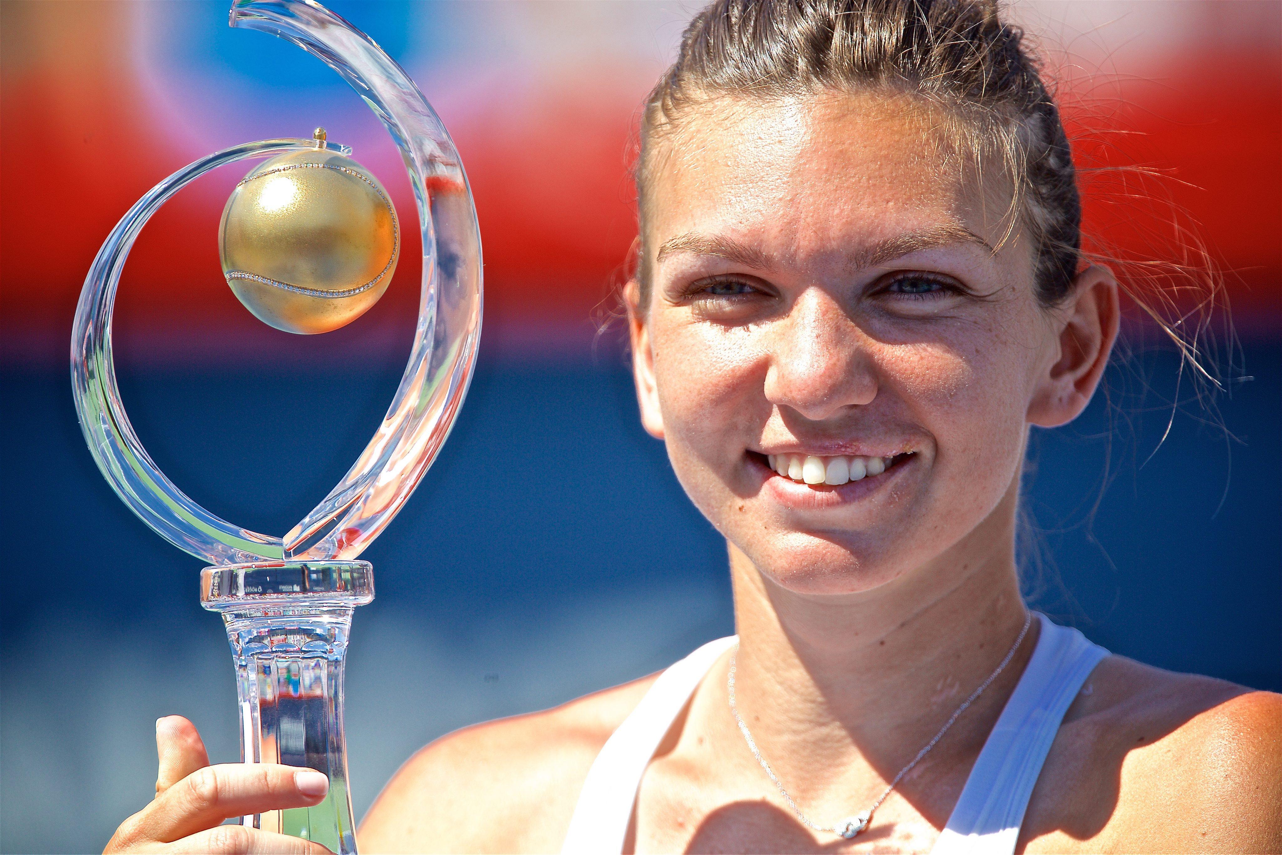 Simona Halep a castigat, la Montreal, al 14-lea trofeu WTA al carierei: 7-6 6-3 in finala cu Madison Keys
