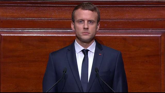 Emmanuel Macron vrea schimbarea traditiei in Franta si a sustinut primul discurs despre Starea Natiunii. Ce anunturi a facut