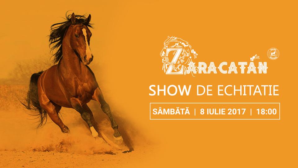 O noua reprezentatie pe strada Zaracatan: cel mai frumos show de echitatie din Romania se joaca din nou in weekend!