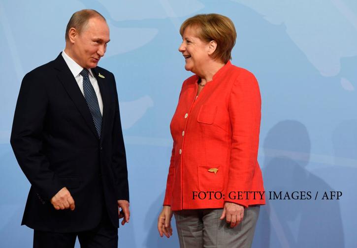 Merkel aplică o lovitură neașteptată Rusiei. Decizia luată în cazul proiectului Nord Stream 2