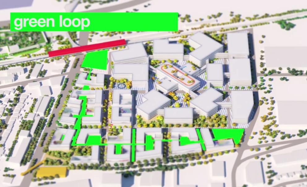 Facebook isi transforma sediul din Silicon Valley intr-un sat, cu locuinte si magazine pentru angajati
