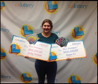O tanara de 19 ani din California a castigat la loterie de doua ori intr-o saptamana. Ce suma a adunat din castiguri