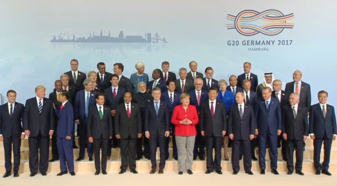 Summit-ul G20 din Hamburg s-a incheiat. Liderii ar fi reusit sa ajunga la un compromis in privinta climei