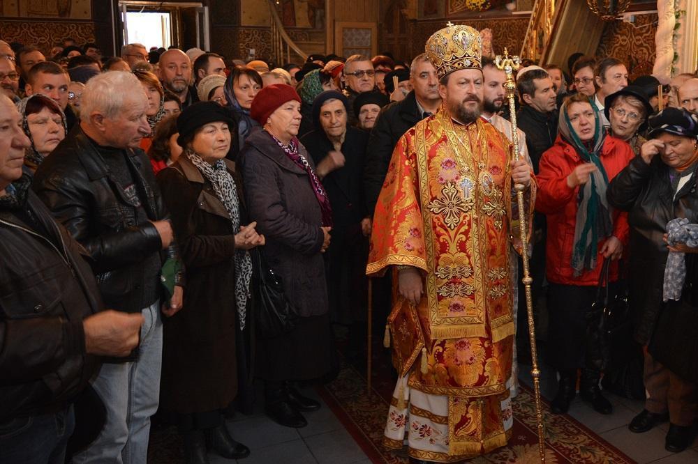 Inregistrarea obscena cu episcopul Husilor va fi vizionata de Mitropolie abia luni.