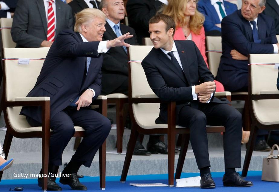 """Dupa intalnirea cu Macron, Trump """"va incerca sa gaseasca o solutie"""" pentru revenirea SUA in Acordul de la Paris"""