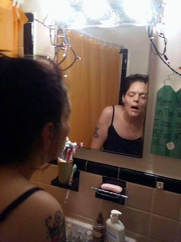 O americanca a reusit sa-si infranga dependenta de heroina: