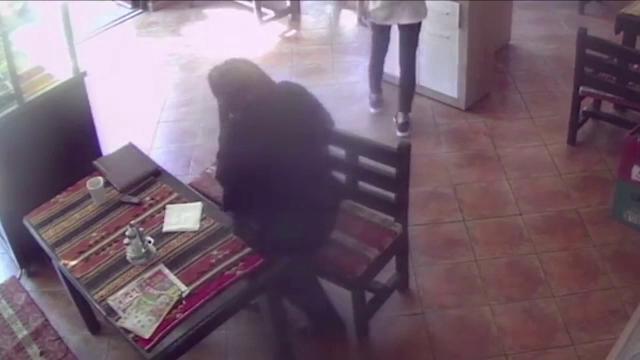 Ipostaza incredibila in care a fost surprinsa o femeie in varsta, intr-un fast-food din Piatra Neamt. Politistii o cauta acum