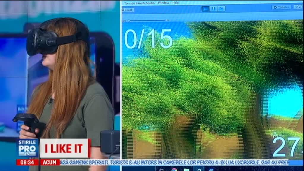 iLikeIT. Aplicatia de realitate virtuala care vindeca ambliopia. A fost creata de programatorii din Cluj
