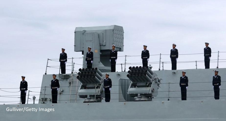 Rusia si China efectueaza in premiera exercitii navale la Marea Baltica. Tiruri cu munitie reala, in apropierea statelor NATO