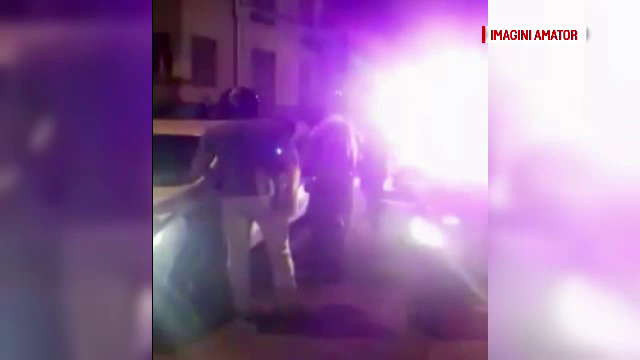 Un motociclist a trecut pe rosu trei semafoare la rand in Pitesti. Circul care a urmat dupa ce a fost oprit de politie