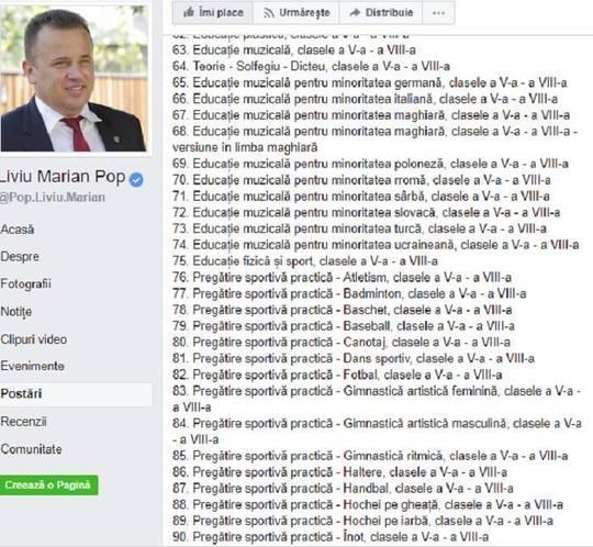 Liviu Pop anunta ca este nevoie de manuale de pregatire sportiva pentru 40 de discipline, de la atletism la yachting