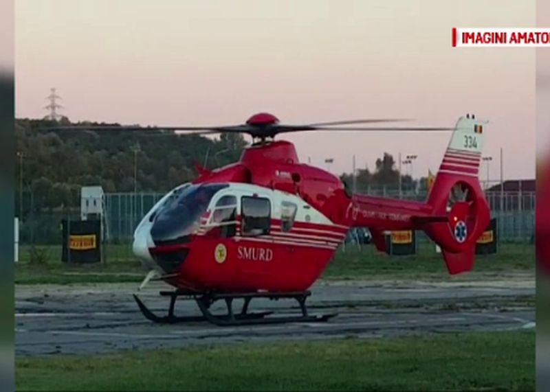 Barbat, preluat de un elicopter SMURD dupa ce a fost muscat de o vipera in Muntii Sureanu. Victima se afla in soc
