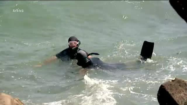 Al 13-lea caz de inec pe litoral in 2017. Trupul tanarului disparut in zona Vadu, recuperat de scafandri
