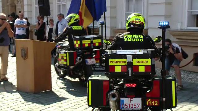 Două motociclete au intrat în dotarea Inspectoratului Timiș. Când vor fi folosite