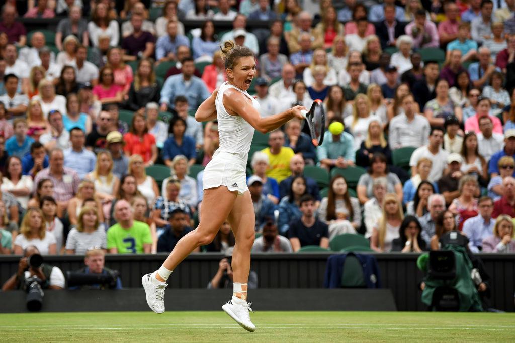 Simona Halep s-a impus în fața chinezoaicei Saisai Zheng în turul doi la Wimbledon