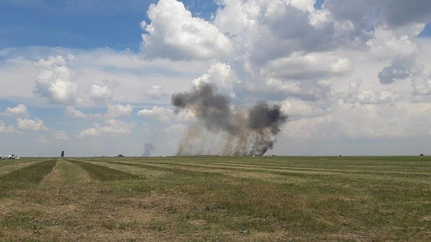 Un avion MIG 21 Lancer s-a prăbușit în Mureș. În ce stare este pilotul