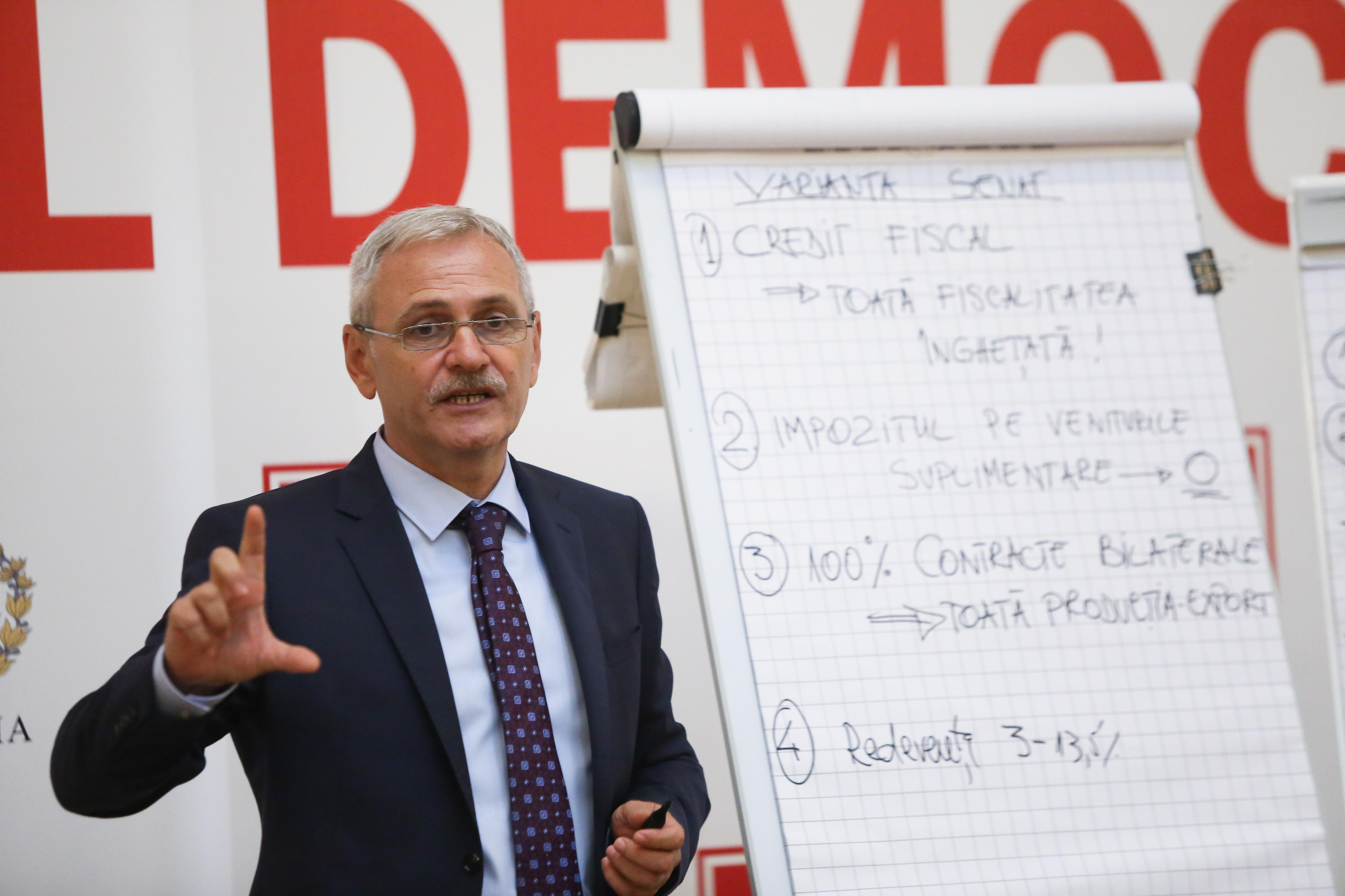 Liviu Dragnea, despre Legea pensiilor:
