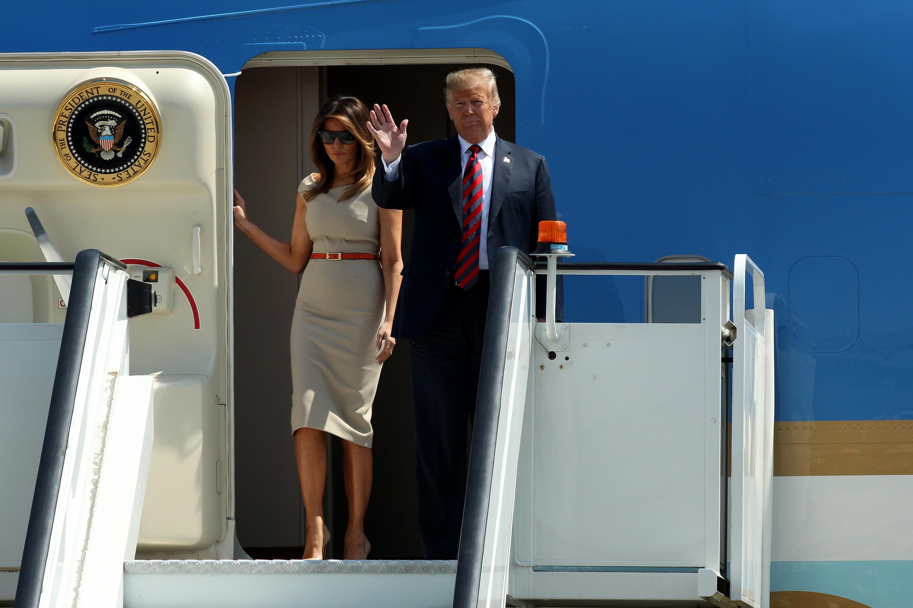 Motivul pentru care Trump a făcut o criză de nervi la bordul avionului Air Force One