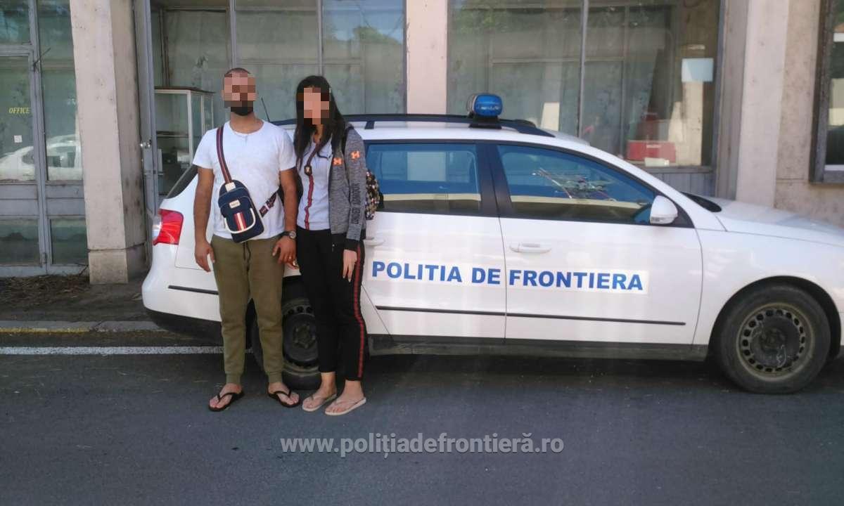 Doi libanezi, prinși intrând ilegal în România. Voiau să-și petreacă aici luna de miere