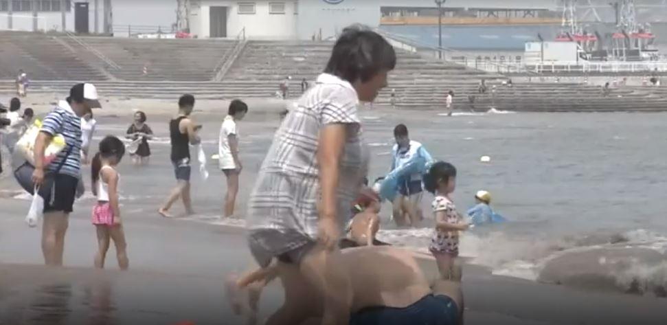 O plajă din Fukushima, deschisă pentru prima dată de la dezastrul nuclear din 2011. Reacția localnicilor