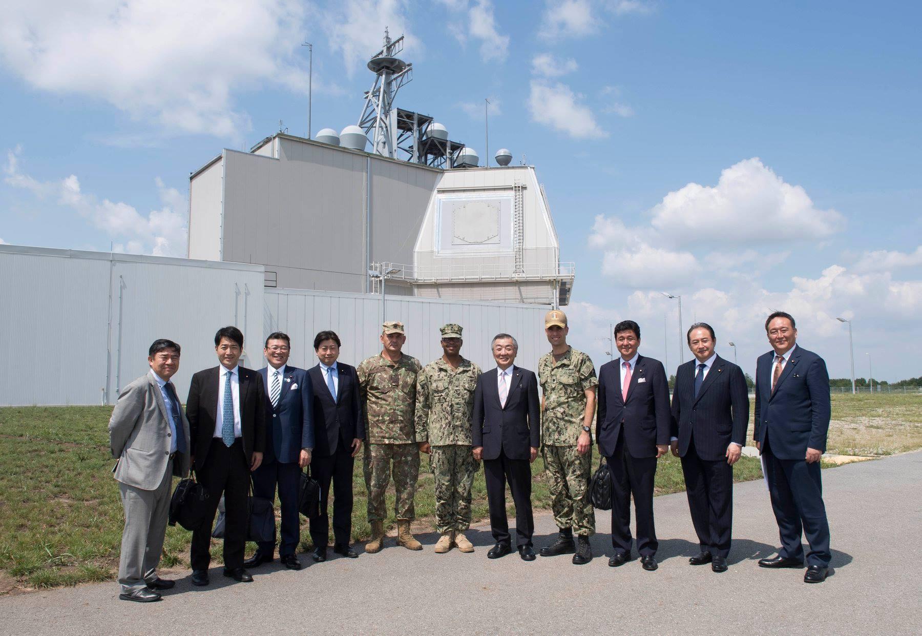O delegaţie niponă a vizitat baza militară Deveselu. Ce i-a interesat pe japonezi