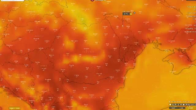 Canicula a colorat harta țării în roșu și a făcut primele victime. 44 de grade, resimțite la Herculane