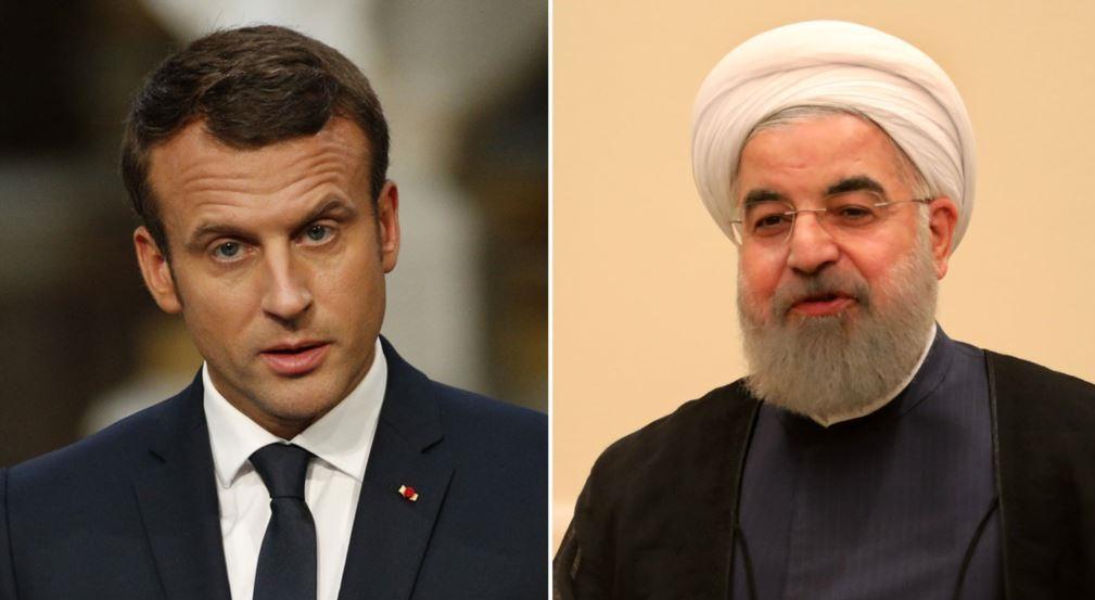 Discuție Macron-Rohani. Iranul, pregătit de creșterea stocurilor de uraniu îmbogăţit