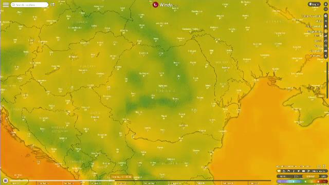 Ciclon deasupra Romaniei. Explicatia fenomenului neobisnuit care a adus zapada in iulie