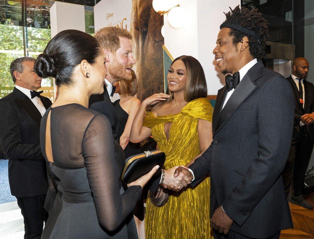 Momentul în care Meghan Markle și Beyonce se întâlnesc, la film. Ce sfat i-a dat cântăreața