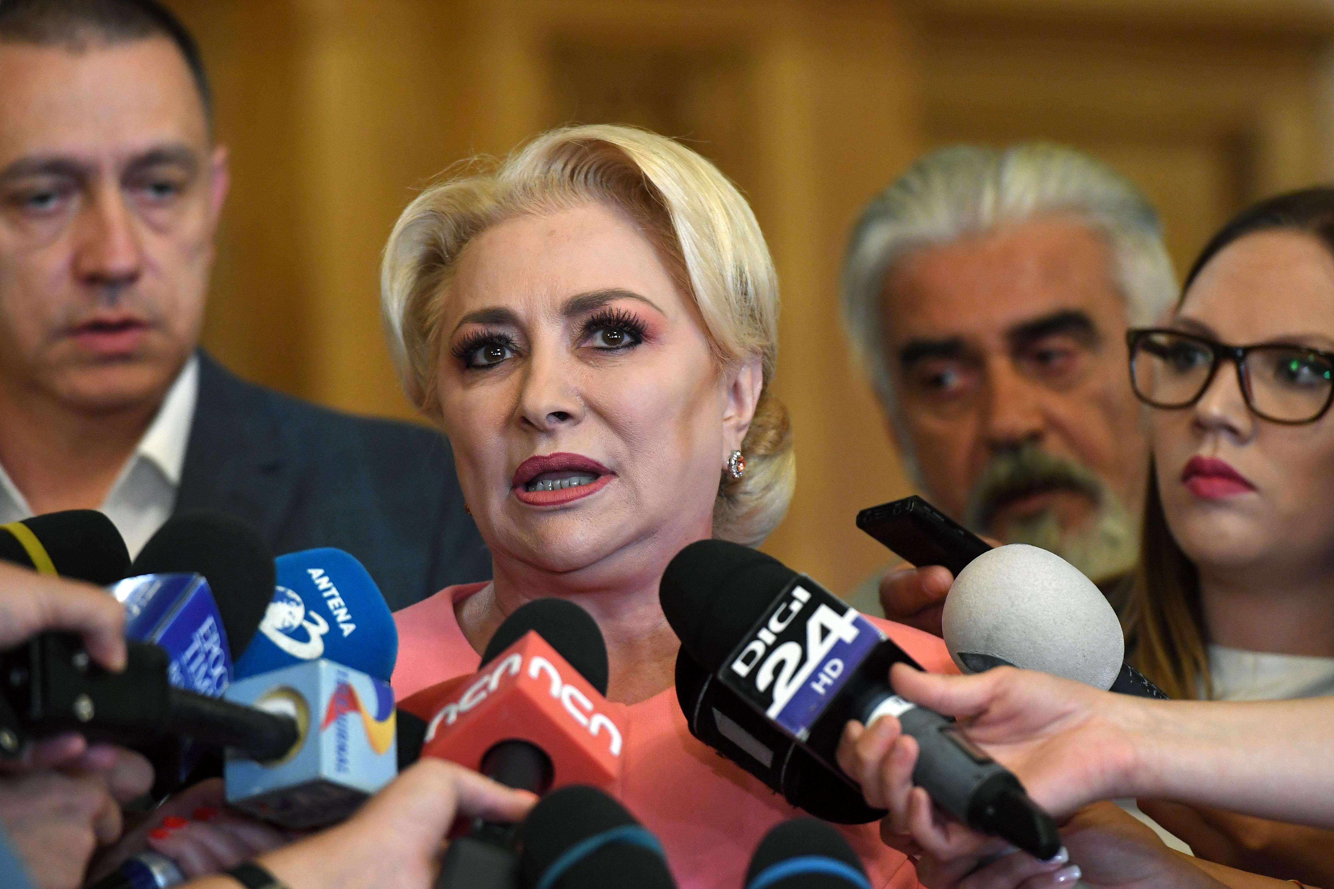 Dăncilă promite că va demisiona dacă PSD nu va intra în turul 2 la prezidențiale
