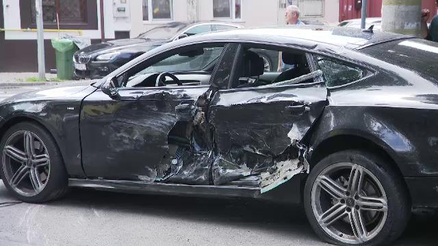 Primele imagini de la accidentul în care a fost implicat ministrul Cuc. Ce povestesc martorii