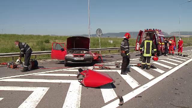 Accidente în lanț pe autostrada A3, în mai puțin de 24 de ore. Un bărbat și-a pierdut viața